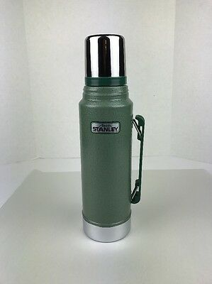 Vintage Stanley Vacuum Bottle Thermos, No. A-944DH, Quart. Made In USA
