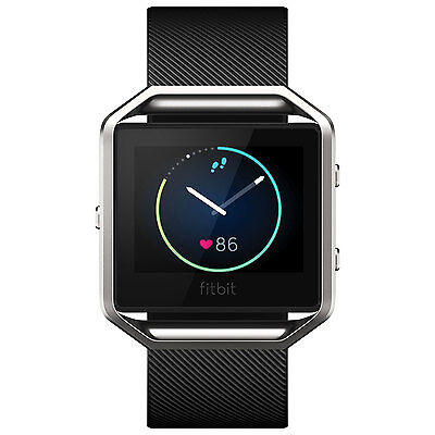 FITBIT BLAZE Fitness Watch - LARGE Size - BLACK Colour - FREE Express Postage!