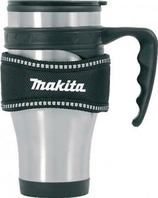 Makita P-72198 Insulated Thermal Mug with Loop Travel Cup | Stainless Steel