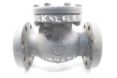New Milwaukee F2970 3 In Iron Flanged Swing Gate Check Valve