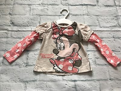 Baby Girls Clothes 9-12  Months - Pretty Disney T Shirt Top