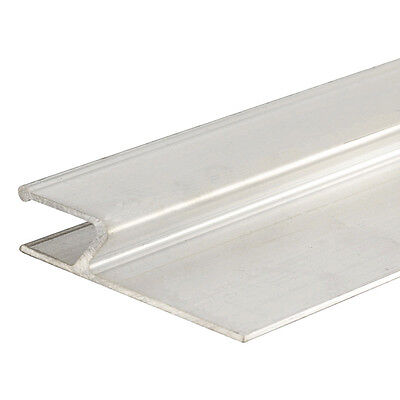 Aluminium H Shape derby  Straight edge feather edge for plastering