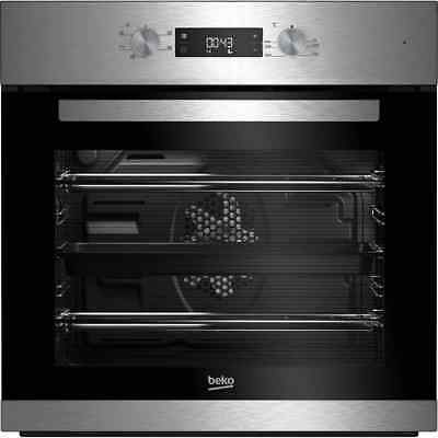Beko BRIF22300X EcoSmart Built In 59cm A Electric Single Oven Stainless Steel