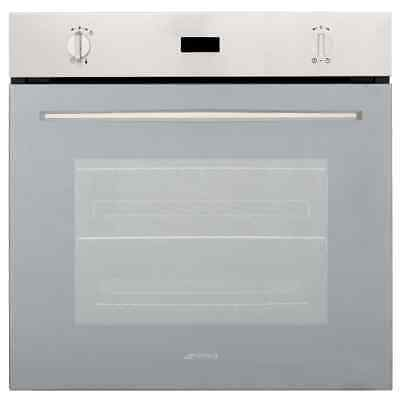 Smeg SF585XLS Built In Electric Single Oven 60cm Single Cavity Stainless Steel