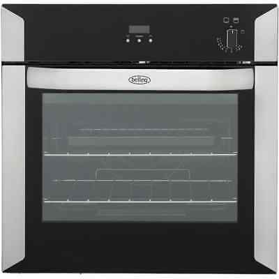Belling BI60G Built In Gas Single Oven 60cm Single Cavity Stainless Steel New
