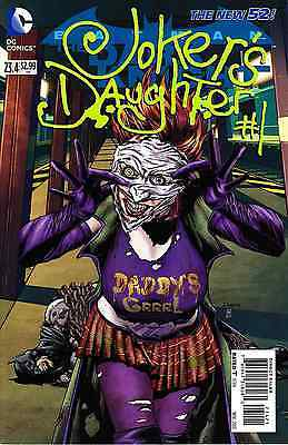 Dc New 52 Batman The Dark Knight #23.4 Joker's Daughter #1 2D Cover 1St Print