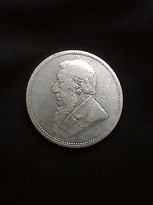 1894 South Africa 2 Shillings KM#6 - Silver Coin