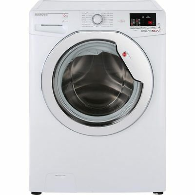 Hoover DXOC410C3 One Touch A+++ 10Kg Washing Machine White / Chrome New from AO