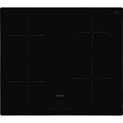 Bosch PUE611BF1B Serie 4 59cm 4 Burners Induction Hob Touch Control Black New