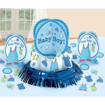 Shower With Love Boy Decorating Kit - Baby Shower Partyware Supplies