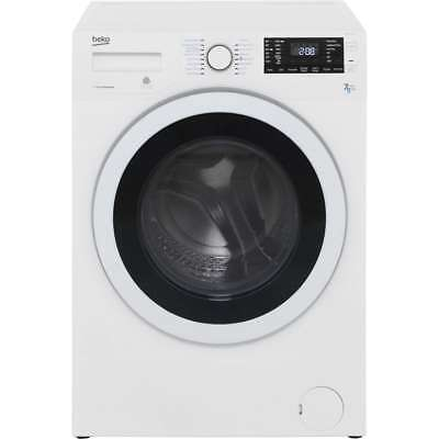 Beko WDR7543121W Free Standing 7Kg Washer Dryer White New from AO