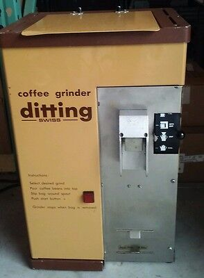 Ditting KFG-  Industrial Coffee Grinder  110v/ 60Hz Swiss Made