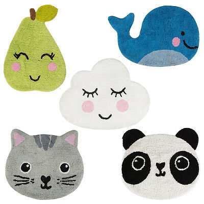 Childrens Rug Kids Bedroom Baby Nursery Playroom Soft Pile Bath Bathroom Mat