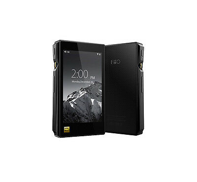 NEW!! FiiO X5 3nd Generation Portable High Resolution Audio Player. (Black)