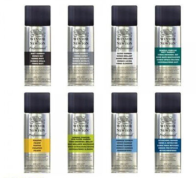 Winsor & Newton Professional Artists SPRAY VARNISH 150 / 400ml Aerosol Can