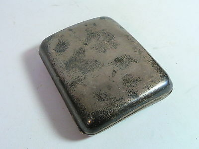 Antique Cigarette Case by Zimmerman 1900 in HM Sterling Silver