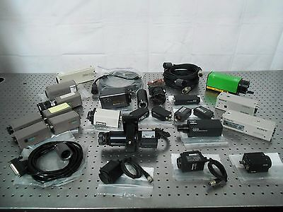 H138524 Lot of Camera w/ Accessories Sony, COHU, Panasonic, Hitachi, PULNiX