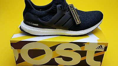 c6bbae74c10 ADIDAS ULTRA BOOST 3.0  Black White  DS  BA8842  US 11 -  199.99 ...