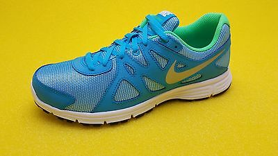 044a963f5d Nike Revolution 2 Gs Running Training Girls Youth Shoes Blue Lagoon 555090  405