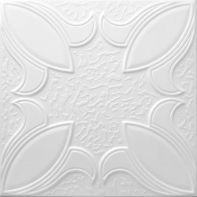 POLYSTYRENE TILES  PANELS WALL CEILING  (Pack of 100) 25 Sqm - BLOOM