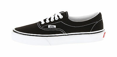 Vans Unisex Women Men Shoes Classic Era Black White Canvas VN000EWZBLK Sneakers