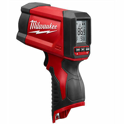 New Milwaukee 2278-20 M12 12V 12 Volt 12:1 Infrared Temp-Gun Temperature Gun