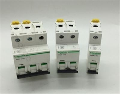 Small Schneider Ic65n Circuit Breaker Switch Air 3P D50a W