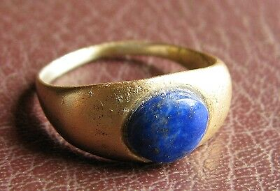 Ancient Artifact > Roman Bronze Finger Ring SZ: 9 US 19mm 14758 DR