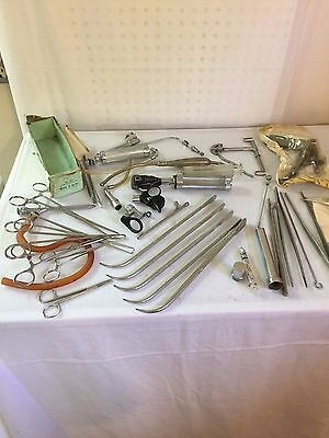Medical Vintage Surgical Instruments Variety Rare Lot Unusual Collection