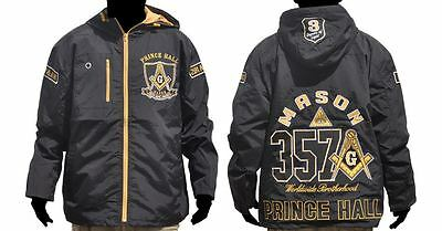 0c4730596ce3 Prince Hall Fraternity Mason Masonic Jacket F AM Windbreaker Jacket Hoodie