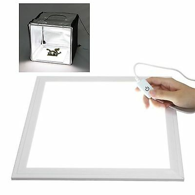 30x 30cm Indirect Dimming LED Light Panel Fr Shooting Tent Softbox Photo Studio