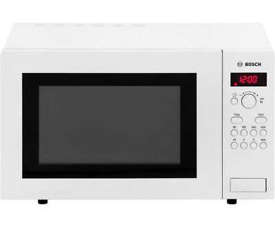 Bosch HMT84M421B 900 Watt Microwave Free Standing White New from AO