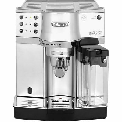 De'Longhi EC860.M Traditional Pump Espresso Coffee Machine 15 bar Silver New