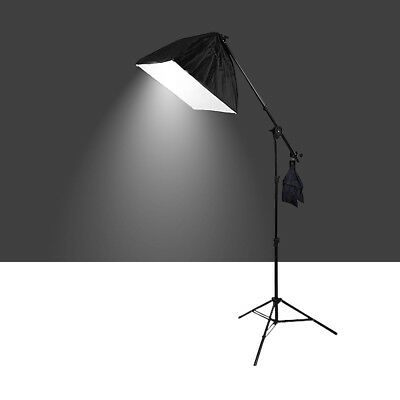 Photography Photo Studio Softbox Boom Lighting Soft box Light Arm Stand Kit 675W