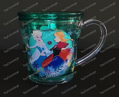 DISNEY Store FUNFILL Cup FROZEN ANNA & ELSA Meal Time Magic 6 oz NWT