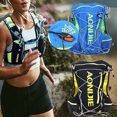 10L Sports Camping Running Cycling Vest Water Bag Backpack Storage Pouch WD