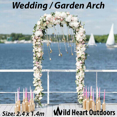 Garden Wedding Arch Garden Climbing Frame Arches Iron Outdoor Arbour Gate
