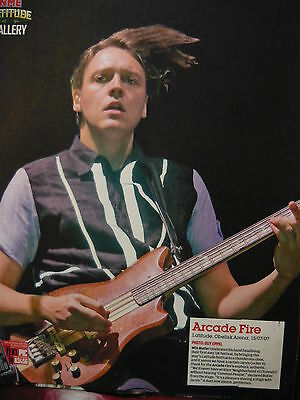 Arcade Fire - Magazine Cutting (Full Page Photo) (Ref Sa)