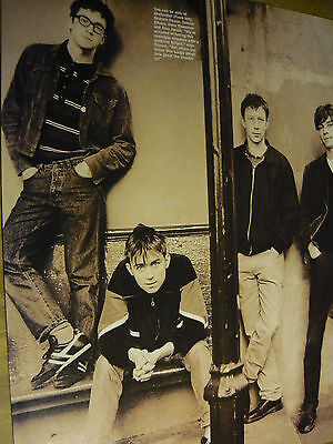 Blur - Magazine Cutting (Full Page Photo) (Ref Nd4)
