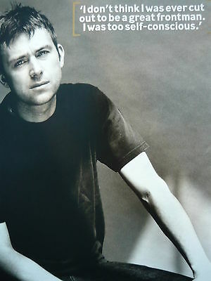 Blur (Damon) - Magazine Cutting (Full Page Photo) (Ref Lb2)