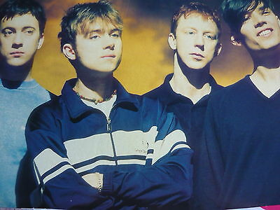 Blur - Magazine Cutting (Full Page Photo) (Ref B5B)