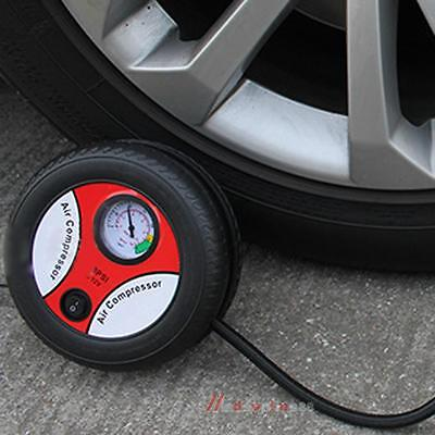 Automobile Tire Air Pump Swimming Ring Rubber Bike Boat Sport Ball Filling Pump