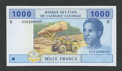 CENTRAL AFRICAN STATES - Cameroun 1000 Fr  2002  Uncirculated  ( Banknotes )