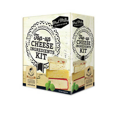 Free Shipping Mad Millie Top Up Cheese Ingredients Kit Cheese Making 73535