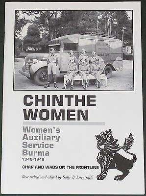 WASB HISTORY WW2 Second World War Burma Campaign Chinthe Women Auxilary Service
