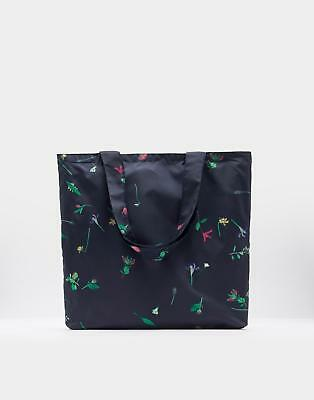Joules 124257 Reusable Bag in French Navy Garden in One Size