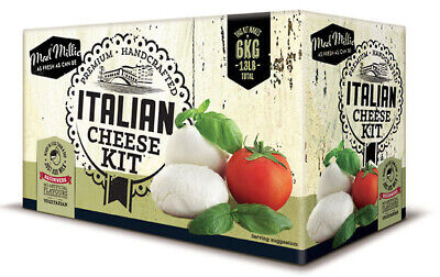 Free Shipping  Mad Millie Italian Cheese Making Kit Mozzarella ricotta mascarpon