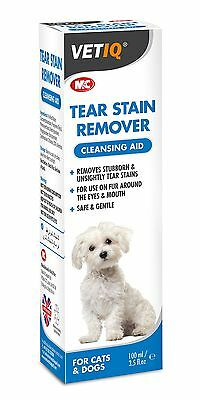 Vet IQ Tear Stain Remover for Dogs and Cats