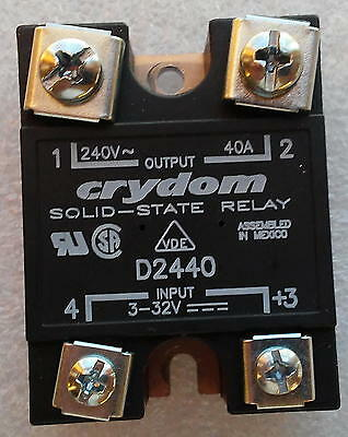 Crydom D2440 Solid State Relay, 240V 40A