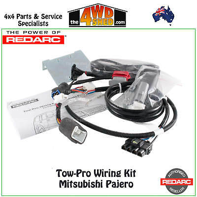 REDARC Tow-Pro Wiring Harness Loom Kit suit Tow Pro ELITE suit Mitsubishi Pajero